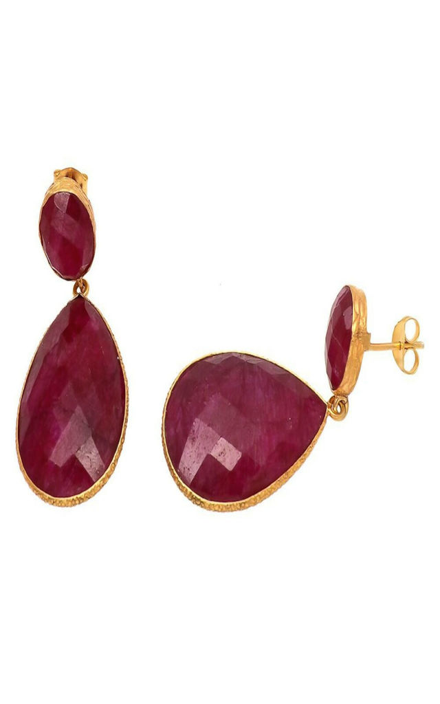 Harriet Earring Ruby Red by Shyla London