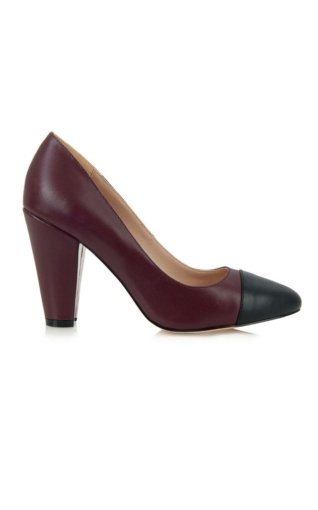Beaulieu Plum Court Shoes by Yull Shoes