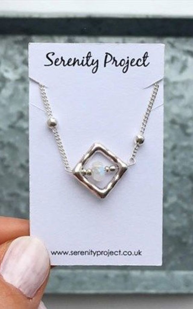 Nova Moonstone Necklace by SERENITYproject