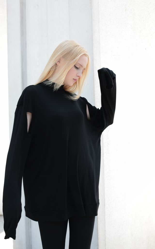 Black-99 Sweater by neoblend