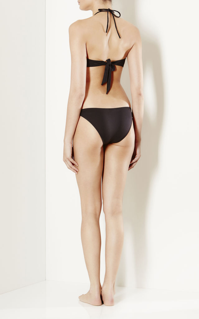 Sasso black ring bikini by Nardis Beach