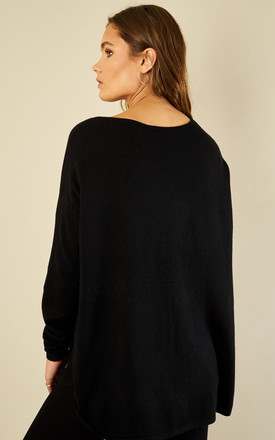 Black Diamond Bead Star Jumper by Bella and Blue
