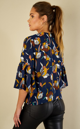 Follow You to the End - Bazaar Top (navy) by Traffic People