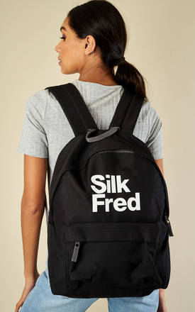 SilkFred Logo Back Pack by Shop SilkFred