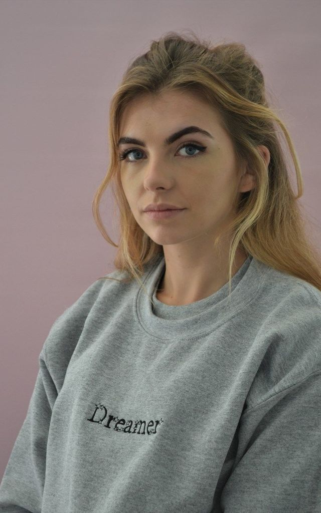 Embroidered Dreamer Sweater by Emma Warren