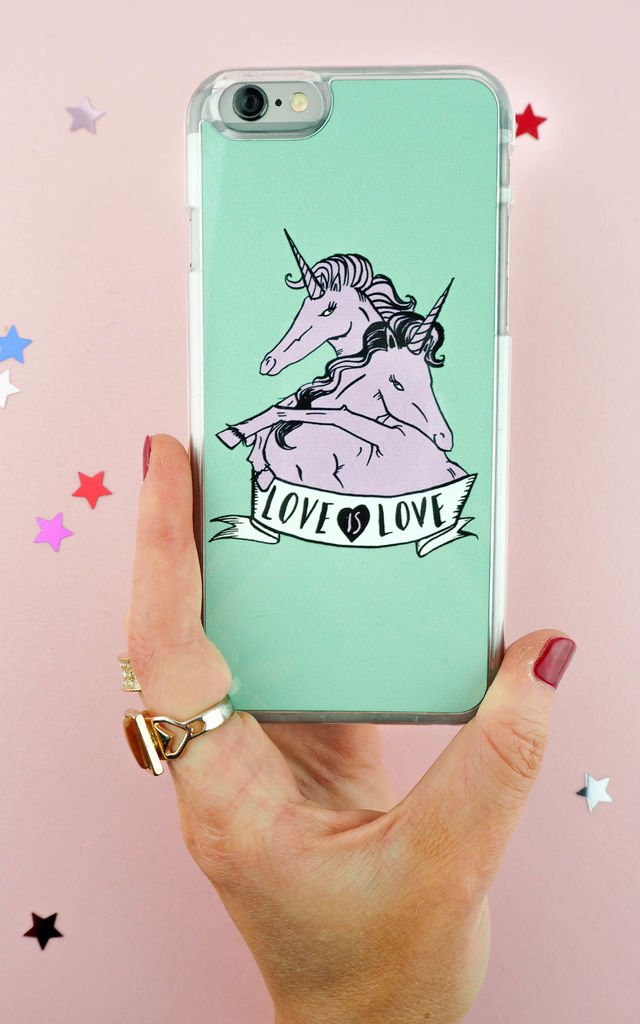 Love is Love Phone Case by Rock On Ruby