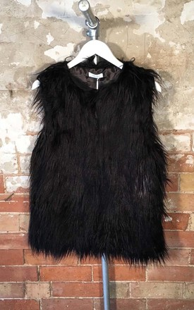 Faux Fur Gilet by White Leaf