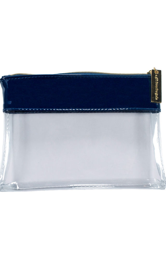 Crown Blue Make-up Pouch by A Gift From The Gods