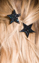 Glitter Star Bobby Pins Metallic by Stephanieverafter