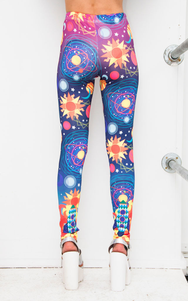 Out of this World Leggings by Dazzle & Jolt