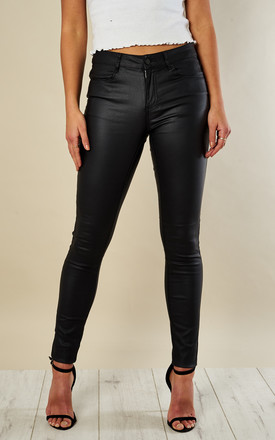 Black Coated Jean by VILA Product photo