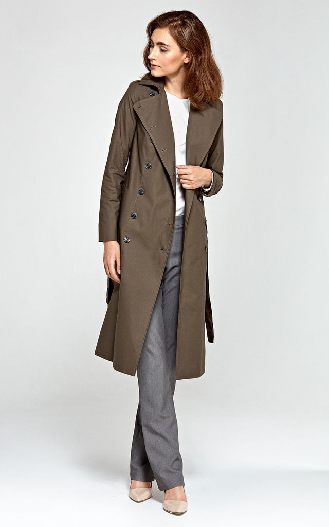 Long Trench coat by so.Nife