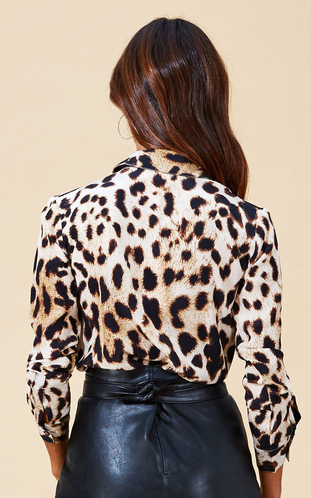 San Diego Shirt in Natural Leopard by Dancing Leopard