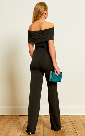 The Charlotte Jumpsuit in Black by Gorgeous Couture