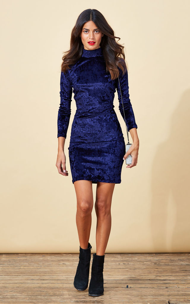 Samara Dress in Twilight Blue image