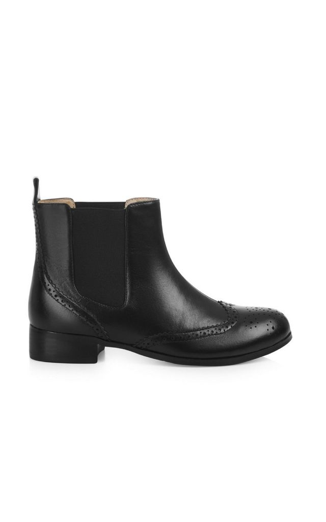 Chelsea Black Ankle Boots by Yull Shoes
