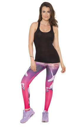 Enchanted Unicorn Leggings by AMiCAFOX