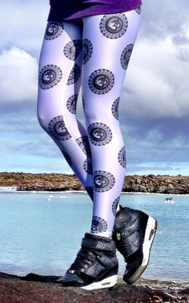 OM/Ganesha Leggings by AMiCAFOX