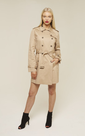 UNIQUE21 Longline Trench Coat by UNIQUE21
