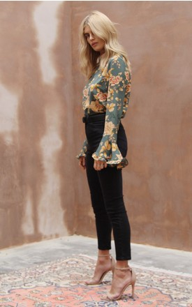 Norma Blouse Khaki by Never Fully Dressed