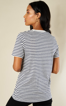 PEACOAT SHORT SLEEVE BOX CUT TEE by Selected Femme