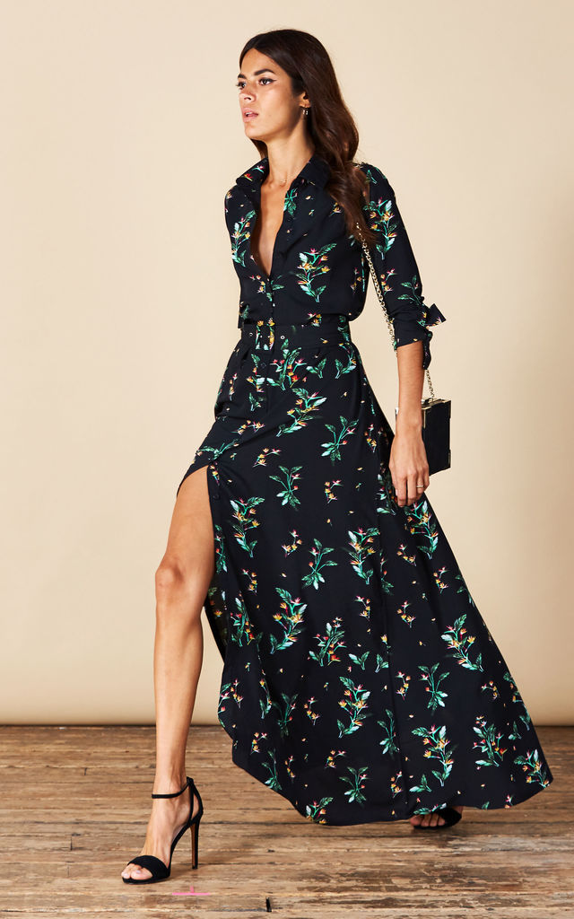 Dove Dress in Midnight Paradise image