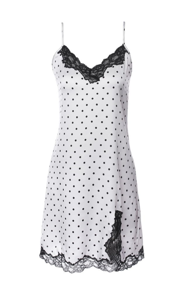 Polka Babydoll - White by Lucia Berutto Europe