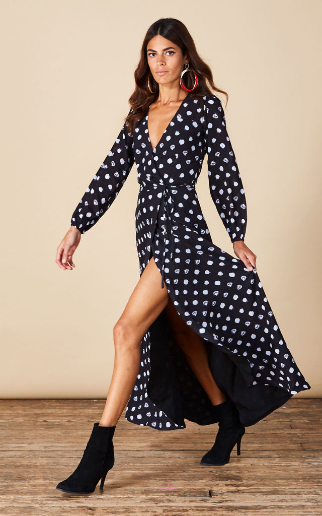 JAGGER MAXI IN PAINTED DOT image