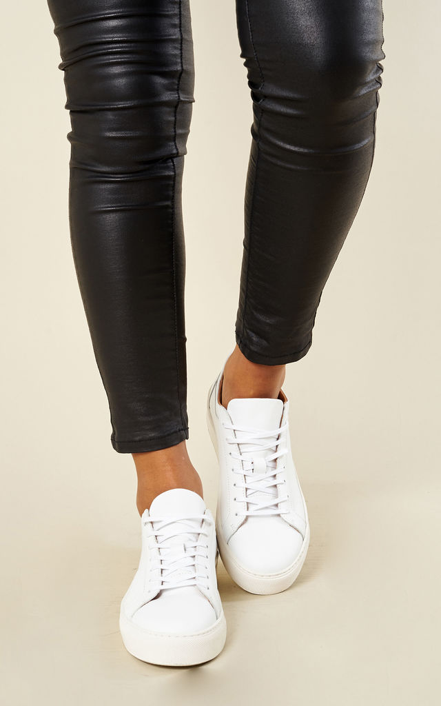 WHITE SNEAKERS by Selected Femme
