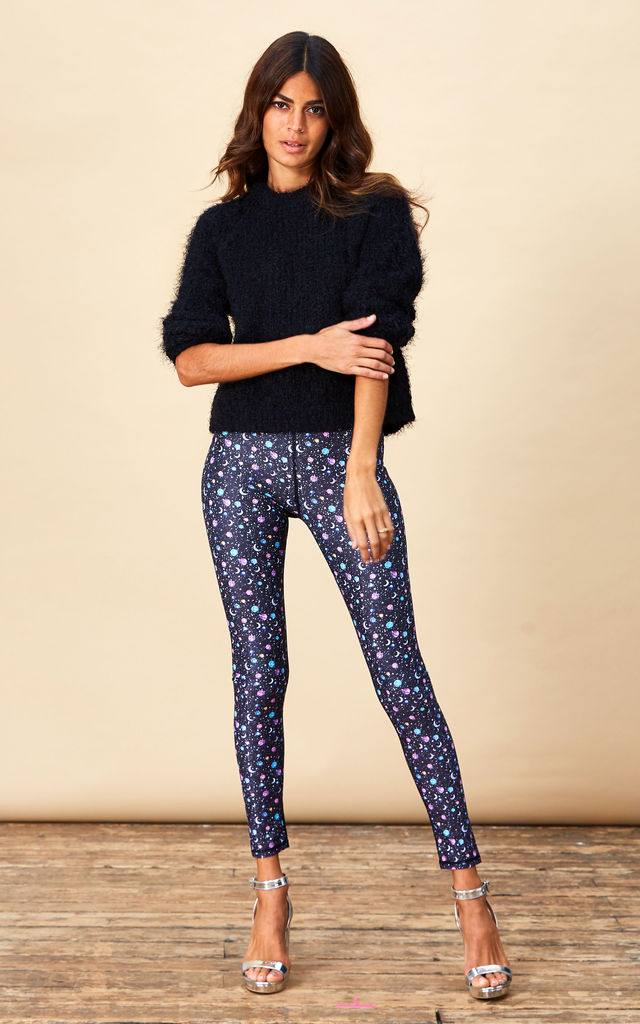Alexa Leggings in Space Print image