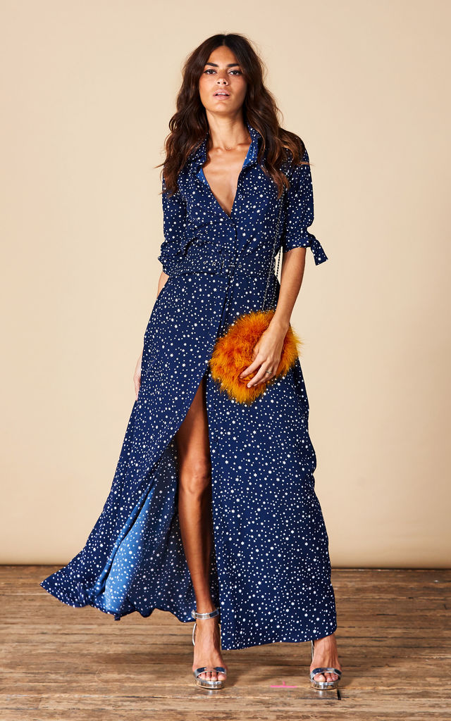 Dove Dress in Navy Star image