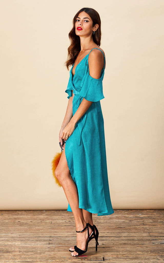 Ivy Dress in Sea Green image