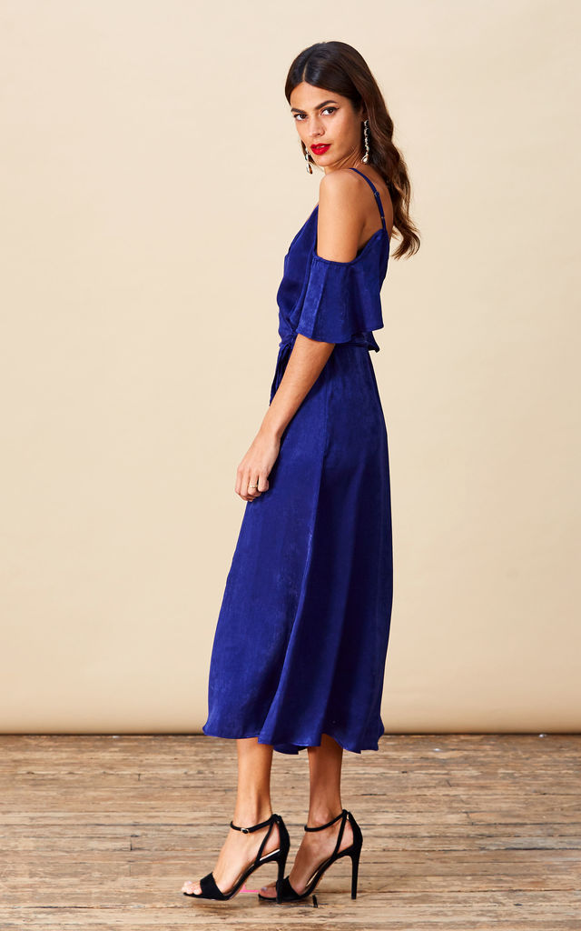 Ivy Dress in Midnight Blue image