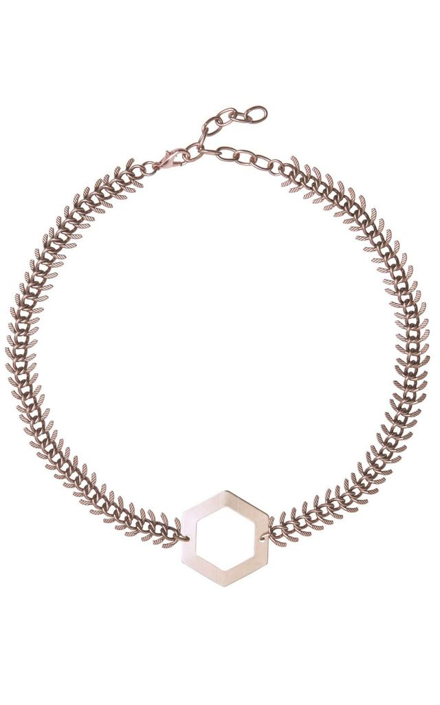 Annette Rose Gold Necklace by Leo With Love