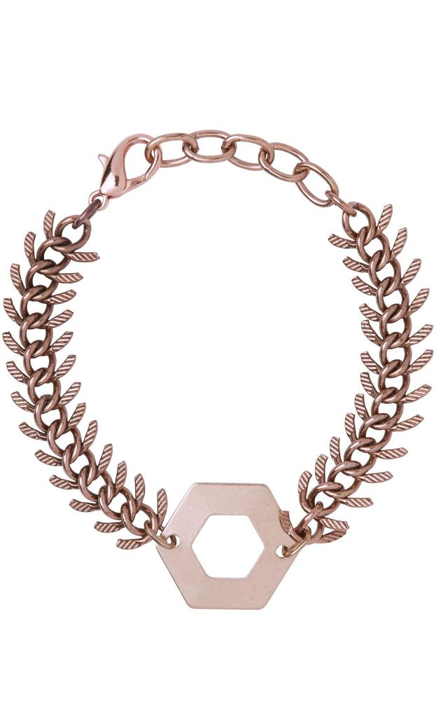 Annette Rose Gold Bracelet by Leo With Love