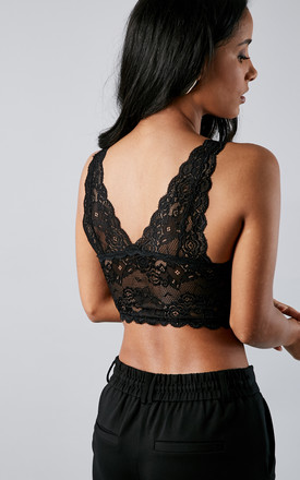 BLACK CHLOE LACE BRA by ONLY