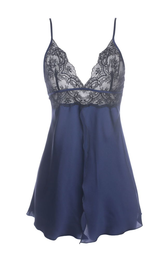 Lace Babydoll - Blue by Lucia Berutto Europe