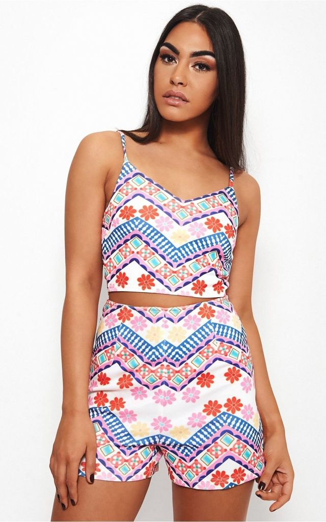 Olivia Pink Aztec Co-Ord by The Fashion Bible