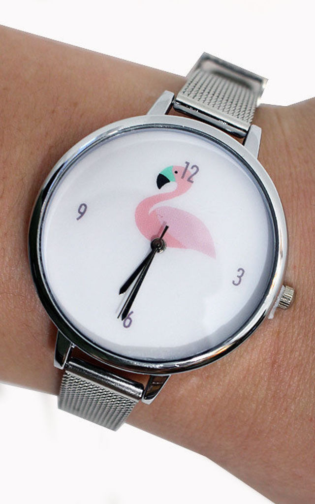 Flamingo Watch by Tallulah's Threads