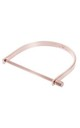 Rose Gold Slim Cuff Bracelet by Opes Robur