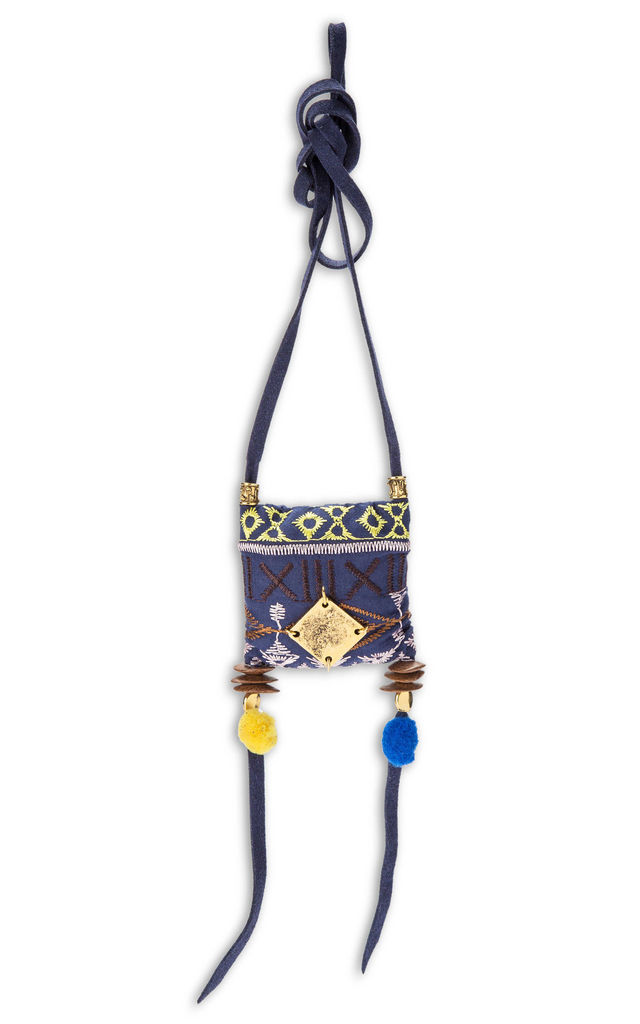 Pillow boho necklace by SNAZZY LONDON