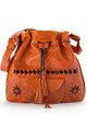 "Moroccan Wanderlust Bag- ""Burnt"" Orange by SNAZZY LONDON"