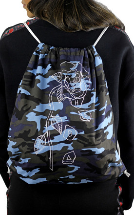 HEBA CLOTHING ✪ 'Evolve' Logo Drawstring Backpack ** Limited Edition** by HEBA Clothing