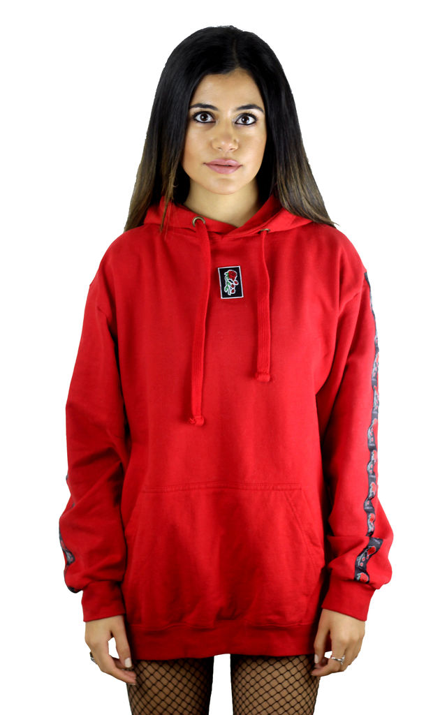 HEBA CLOTHING ✪ 'Evolve' Red Logo Hoodie **Limited Edition** by Find the Light