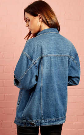 Blue Denim Jacket by Noisy May