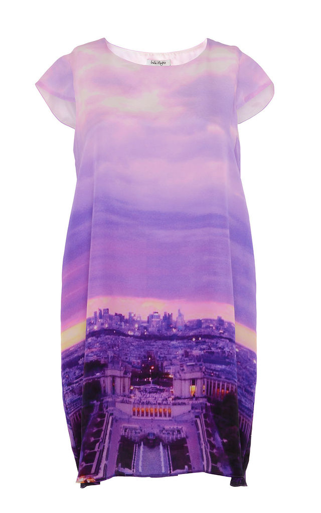 Paris Cityscape | Shift Dress by Lulu Hayes