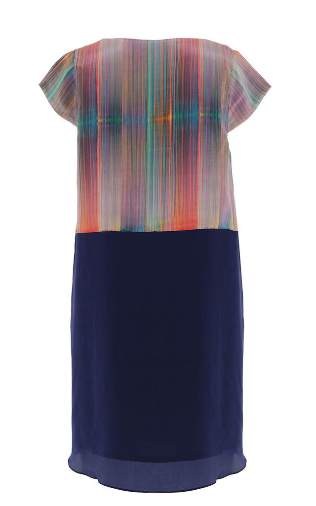 Blurred Lines | Shift Dress by Lulu Hayes