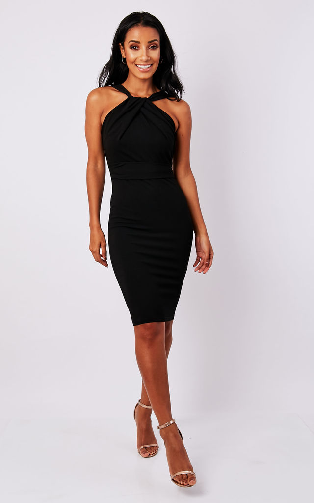 Black Halter Neck Dresses