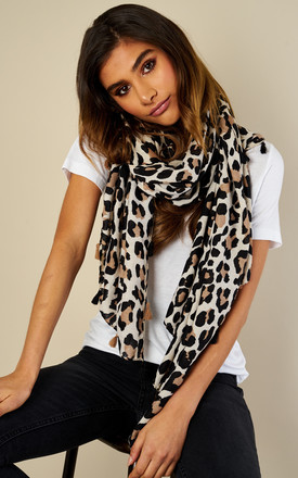 Leopard Scarf by Bella and Blue Product photo