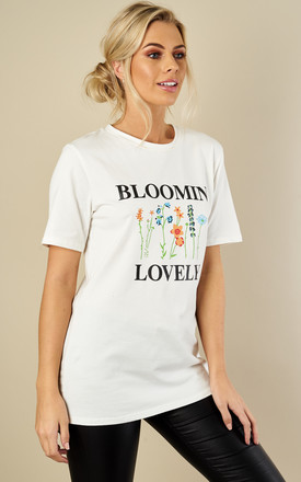 White Bloomin' Lovely Top by Glamorous